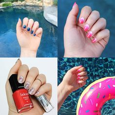 June Summer Manicure Nails Inspiration   Beauty on Living After MIdnite