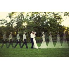 Really cool wedding picture idea -- Ignite's Urban Garden would be the perfect setting for this!