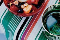 Zomerfruitsalade met Griekse yoghurt en noten