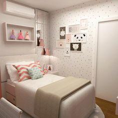 """94 Likes, 7 Comments - CAS Arquitetos Associados (@cas.arquitetosassociados) on Instagram: """"Dormitório menina 👑👑"""""""