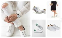 The M-List: HOW TO WEAR: ZAPATILLAS BLANCAS