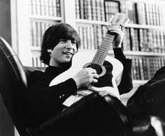 "LOVE--> John performing the song ""You've Got To Hide Your Love Away"" in the film ""Help!"" - The Beatles"