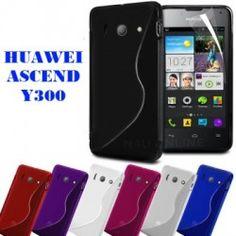 Capa Silicone Huawei Ascend Y300 + Película