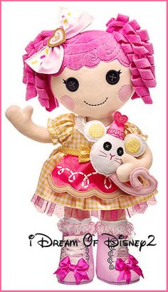 f022caf6e0f Build a Bear Lalaloopsy Doll Unstuffed Crumbs Sugar Cookie 19 in Plush Toy  Se.