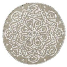 Nordic tapis pour sapin de noël Ø120 cm