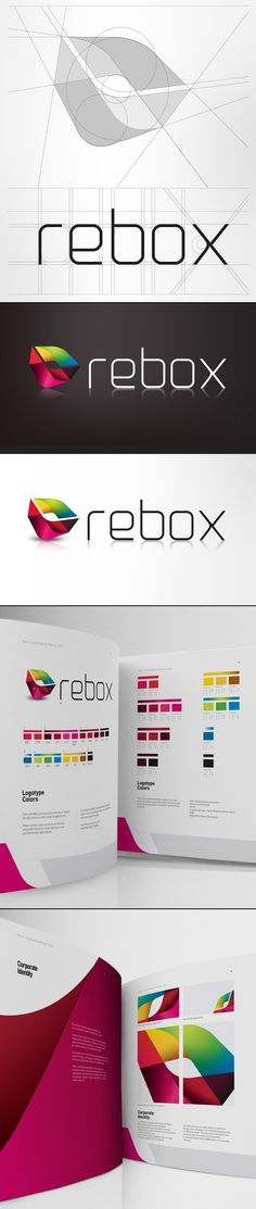 Rebox Logo Design.