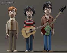 Flight of the Conchords Vinyl Idols by Evil Corp - Evilcorp.TV