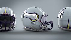 Minnesota Vikings helmet, uniform, logo concept | The Penalty Flag