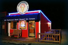 The Northside Ice Cream Parlor in Broken Bow, Oklahoma is the place to get fresh, hand-dipped ice cream near Beavers Bend State Park. They offer 12 flavors every day as well as a great variety of toppings.