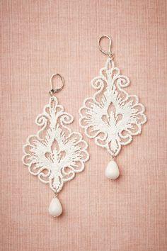 Regalia Earrings BHLDN : vintage wedding