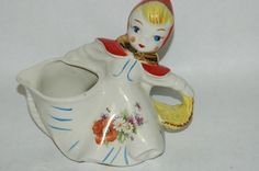 Hull Little Red Riding Hood Batter Pitcher 1940'S