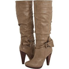 Taupe boots $80