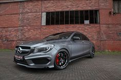 Schmidt Revolution has some Fun with the AMG CLA45