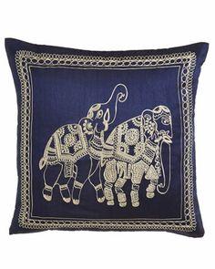 Alandha Pillows - Horchow Navy Pillows, Throw Pillows, Toss Pillows, Cushions, Decorative Pillows, Decor Pillows, Scatter Cushions