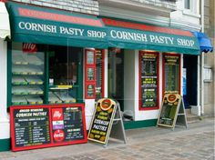 best pasty St Ives, Cornwall | ... image, photo - The cornish pasty shop, St Ives, Cornwall, England, UK