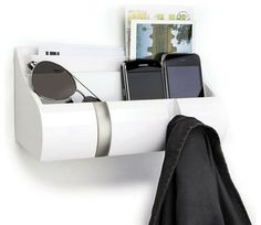 Cubby Wall Mount Organizer - Contemporary - Storage And Organization - Home Clever, Inc.