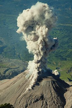 (12/29/2009) Santa Maria is a large active volcano in the Western Highlands of Guatemala, close to the city of Quetzaltenango. Last eruption 2013 (continuing): Elevation 12,375 ft. Its eruption in 1902 (VEI 6) was one of the four largest eruptions of the 20th century, after the 1912 Novarupta and 1991 Pinatubo eruptions. It is also one of the five biggest eruptions of the past 200 (and probably 300) years.