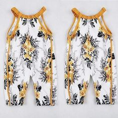 Floral Sleeveless Summer Jumpsuit Romper Buy it today from www.presentbaby.com  We sell a wide array of baby clothing, socks, shoes, bottles, blankets and more. For more information visit our website today.  #baby #girl #floral #cheap #shoes #bottles #win https://presentbaby.com