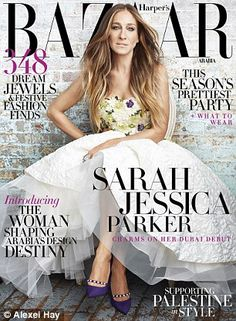 Sarah covered Harper's Bazaar Arabia after travelling to Dubai for the first week ...