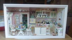 Eine schöne Shabbyküche, ein Unikat es war ein Auftrag für eine Freundin