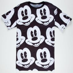 NEFF Disney Collection Mickey Mouse Mens T-Shirt.