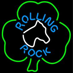 Rolling Rock Horse Head Shamrock Neon Beer Sign 24x24, Rolling Rock Neon Beer Signs & Lights | Neon Beer Signs & Lights. Makes a great gift. High impact, eye catching, real glass tube neon sign. In stock. Ships in 5 days or less. Brand New Indoor Neon Sign. Neon Tube thickness is 9MM. All Neon Signs have 1 year warranty and 0% breakage guarantee.