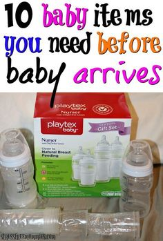 Pregnant and wondering what baby items you should have before baby arrives? Read this helpful list and be prepared #ad #HappierFirstMoments #ForBetterBeginnings