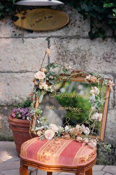 新郎新婦様からのメール ラビュットボワゼ様の装花 砂漠と水 : 一会 ウエディングの花