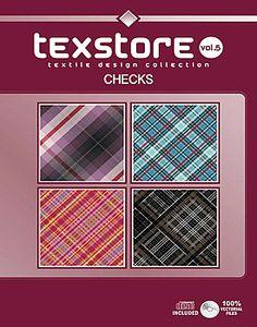 Vol 05 -Checks:  Inspirational Graphic Design For Fashion and Interiors