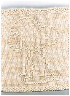 Dishcloth Pattern Corner and Some Scrubbies Too: THAT BEAGLE WASHCLOTH