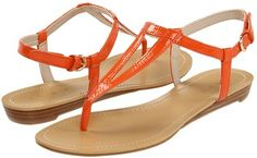 Love the color of these sandals
