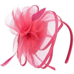 Copper Key Duchess Fascinator Feather Satin Headband ($20) ❤ liked on Polyvore featuring accessories, hair accessories, satin headbands, headband fascinator, hair band accessories, feather hair accessories and fascinator headband