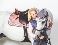 www.pegasebuzz.com | Equestrian Fashion : Equestrian Stockholm, dusty pink collection.