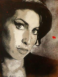 Jef Aérosol 2012 - Amy Winehouse by Jef Aerosol, via Flickr