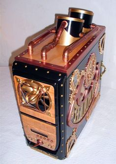 Steampunk Computer Case Mod