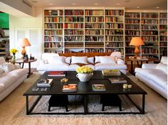 expansive library