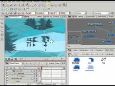 Create water ripple And Reflection in Toon Boom Animate Pro