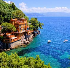 Luxury destinations - top ten beautiful getaways from essential travel Italy Vacation Packages, Cruise Packages, Vacation Destinations, Vacation Spots, Dream Vacations, Wonderful Places, Beautiful Places, Simply Beautiful, Portofino Italy