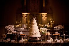 Now that's a dessert table!
