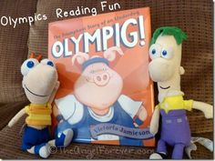 Olympig! - A great book to read during the Olympics    #Olympics #Books