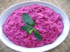 Pink Sultan – Beet Dip with Garlic Yogurt