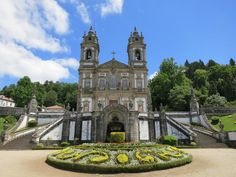 Braga (population 160,000) has an historic center with many 18th century houses…