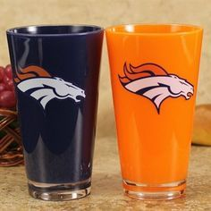 All the best Denver Broncos Gear and Collectibles are at the official online store of the NFL. The Official Broncos Pro Shop on NFL Shop has all the Authentic No Fly Zone Jerseys, Hats, Tees, Apparel and more at NFL Shop. Denver Broncos Football, Football Baby, Bronco Car, Broncos Merchandise, Blue Orange, Navy Blue, Peyton Manning, Nfl Shop, Plastic
