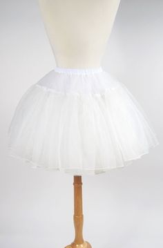 One Day In Paradise White Petticoat