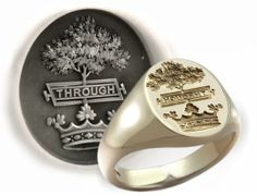 Hamilton Crest - Heritage Rings By Dexter Seal Engraving