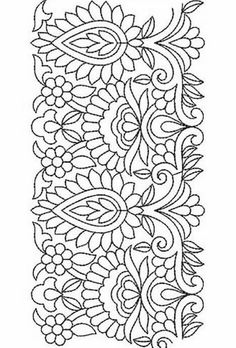 Embroidery Pattern Halloween à la main broderie de dentelle design - Learn how to make barbie doll bedding using fabric scraps and your sewing machine. The little girl in your life will be thrilled! Mexican Embroidery, Border Embroidery, Embroidery Motifs, Hand Embroidery Designs, Ribbon Embroidery, Machine Embroidery, Fabric Painting, Coloring Pages, Needlework