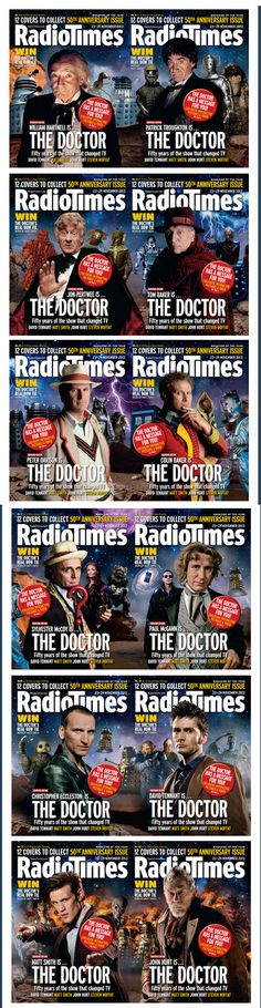 Covers Celebrating 50 years of Doctor Who. The 13th Doctor