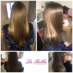"""1/2 head 16"""" In gorgeous European hair £245 La Bella hand made nano tips 💁🏼 #hairextensionsbromley #hairextensionsbeckenham #balayage #mobilehairextensions #brunette #nanorings #nanoringssurrey #nanoringskent #nanoringslondon #hairextensionssurrey #hairextensionskent #hairextensionsessex #labellahairextensions #longhair #💁🏼#nanotips #nanoringsessex #nanoringhairextensions #nanoringslondon #bronde #hairblog #fblogger #hairextensionshertfordshire"""