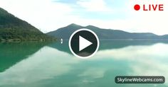 Very charming view over #Walchensee lake, #Germany. Watch it live!