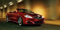 Lexus IS 350 convertible